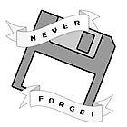 Floppy Disc - Never Forget by randomgeekydad