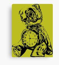 Tired Teddy Canvas Print