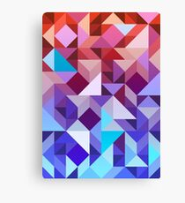 Abstract Geometric Canvas Print
