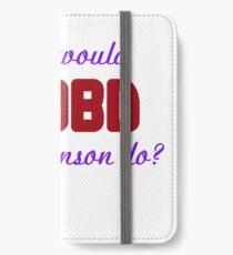 What would Olivia Benson do? WWOBD iPhone Wallet/Case/Skin