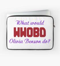 What would Olivia Benson do? WWOBD Laptop Sleeve