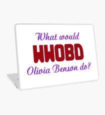 What would Olivia Benson do? WWOBD Laptop Skin