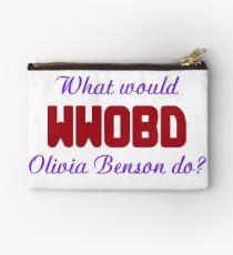 What would Olivia Benson do? WWOBD Studio Pouch
