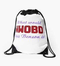What would Olivia Benson do? WWOBD Drawstring Bag