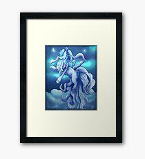 Pokemon Alola Form Ninetales Framed Print