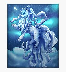 Pokemon Alola Form Ninetales Photographic Print