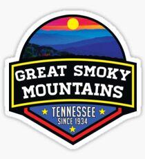 GATLINBURG TENNESSEE GREAT SMOKY MOUNTAINS NATIONAL PARK SMOKIES 2 Sticker