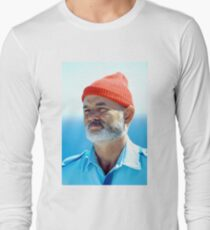 Bill Murray as Steve Zissou  Long Sleeve T-Shirt