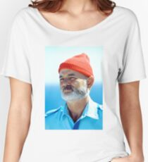 Bill Murray as Steve Zissou  Women's Relaxed Fit T-Shirt