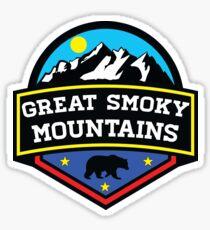 GATLINBURG TENNESSEE GREAT SMOKY MOUNTAINS NATIONAL PARK SMOKIES 5 Sticker