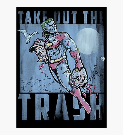 Take Out the Trash Photographic Print