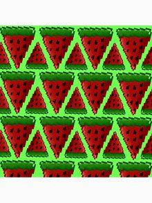 Watermelon Pixel T Shirts Redbubble