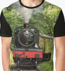 7802 Steam Locomotive Graphic T-Shirt