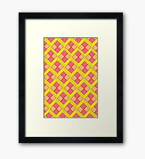 Battenburg Framed Print