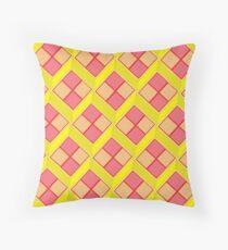 Battenburg Throw Pillow