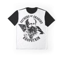 Fathers of Anarchy - Peter Kropotkin Graphic T-Shirt