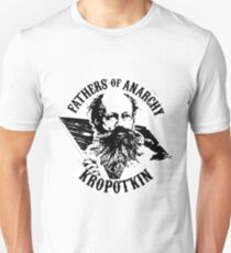 Fathers of Anarchy - Peter Kropotkin Unisex T-Shirt