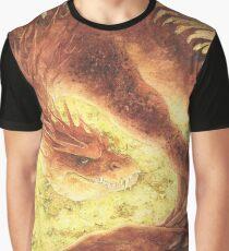 Sleeping Smaug Graphic T-Shirt