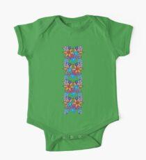 Colorful Romantic Vintage Floral Pattern Kids Clothes