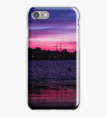 Sunset over Portimão iPhone Case/Skin