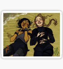 Feyre and Amren Sticker