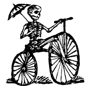 Jose Guadalupe Posada - Bones Biker by fatbike