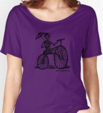 Jose Guadalupe Posada - Bones Biker Women's Relaxed Fit T-Shirt