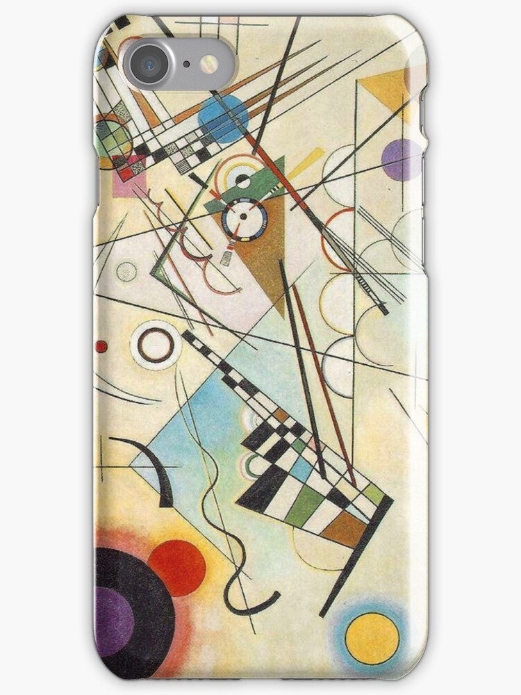 Kandinsky - Composition No. 8 by William Martin
