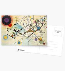 Kandinsky - Composition No. 8 Postcards