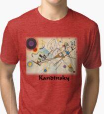 Kandinsky - Composition No. 8 Tri-blend T-Shirt