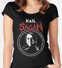HAIL SAGAN Fitted Scoop T-Shirt