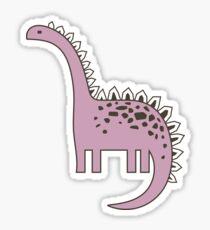 Pegatina Adorno con dinosaurios, Parque Jurásico. Adorable de patrones sin fisuras con divertidos dinosaurios en dibujos animados