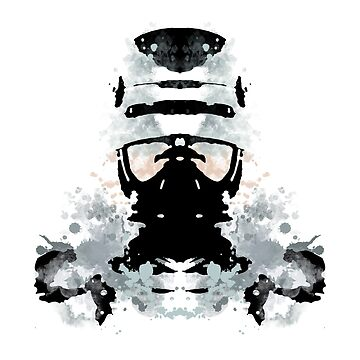 Rorschach Robocop by NormalSizedDeet