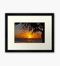 An Early Start Framed Print