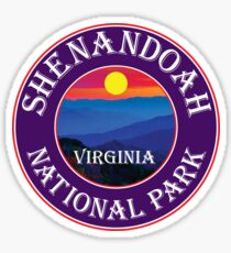 SHENANDOAH NATIONAL PARK VIRGINIA MOUNTAINS HIKING BIKING CAMPING Sticker