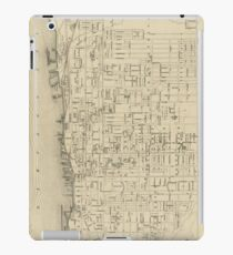 Vintage Map of Toronto Canada (1880) iPad Case/Skin