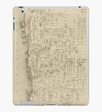 Vintage Map of Toronto Canada (1880) iPad Case/Skin