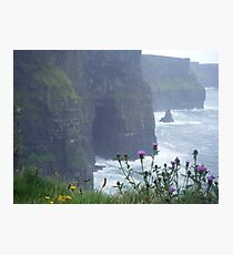 cliffs of moher, co. clare.  Photographic Print