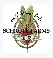 Schrute Farms - The Office Photographic Print