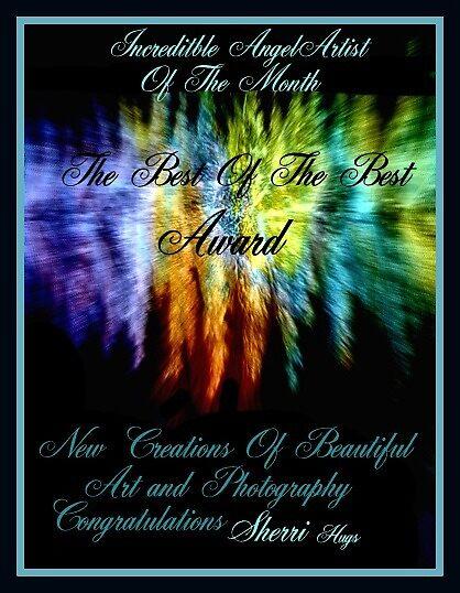 INCREDIBLE ANGEL ARTIST OF THE MONTH ..NEW BANNER by SherriOfPalmSprings Sherri Nicholas-