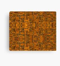 Garage Bricks Canvas Print