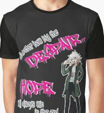 Nagito Komaeda: Hope and Despair Graphic T-Shirt