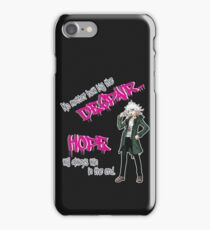 Nagito Komaeda: Hope and Despair iPhone Case/Skin