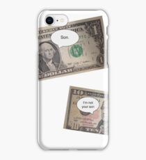 Hamilton -- Not Your Son iPhone Case/Skin