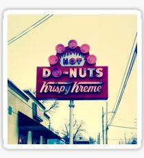 Donut Sign: Krispy Cream Dream. VividScene Sticker