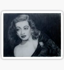Bette Davis  Sticker