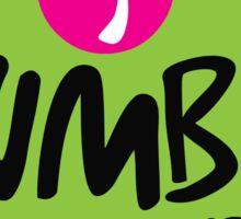Zumba Fitness Sticker