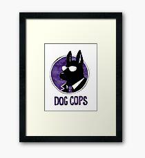 Dog Cops Framed Print