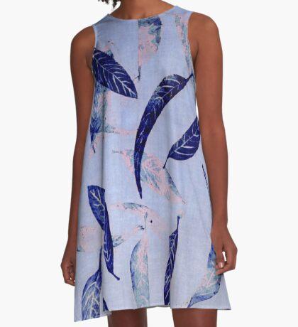 falling leaves A-Line Dress