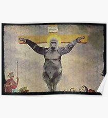 Harambe our Holy father Poster